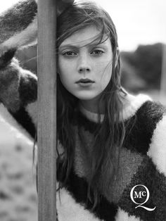 Natalie Westling Poses in London for McQ by Alexander McQueen Fall 2014 Campaign