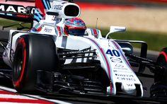 Lataa kuva 4k, Paul di Resta, Formula 1, Williams F1 Team, FW40, 2017 autot, F1