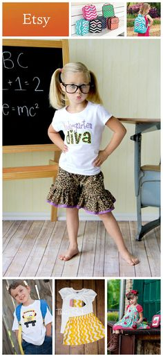 {Kid's Fashion & Gear} 7 Awesome Back-to-School Finds from @Etsy