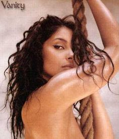 Vanity graced the pages & cover of Playboy many times in the late 80s