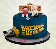 Back To The Future | 19 Spectacularly Nerdy Wedding Cakes