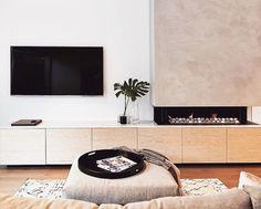 Great #loungeroom #makeover #insp #featurewall #neutraldecor #timberdecor #whitedecor #livingroom #rug #inspiration #homeinspo #reno #renos #renovation #renovatorauctions   https://www.renovatorauctions.com.au/furniture/