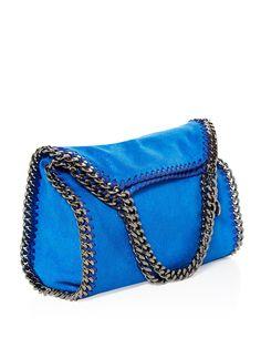Falabella small faux-suede cross-body bag   Stella McCartney   MATCHESFASHION.COM UK