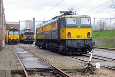 Netherlands, Dutch, Diesel, Around The Worlds, Industrial, Train, Trains, Parking Lot, Holland