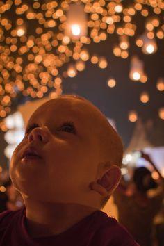 Yi Ping lantern festival. A Chiang Mai highlight. (I LOVE living in Thailand)