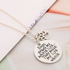 Dogs Make My Life Whole by GifthyClub on Etsy