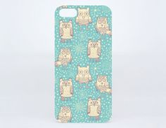 Funny Owls Bird on iPhone 5/5s Hard Plastic Cover by CityNYTshirt, $6.79