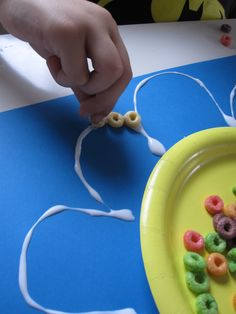 cheerio flower craft