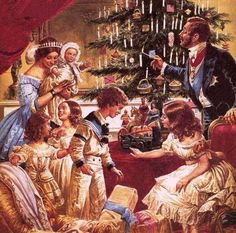 Christmas with Victoria and Albert