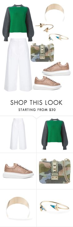"""no more fashion over comfort"" by astridlund on Polyvore featuring ESCADA, Sacai Luck, Alexander McQueen, Valentino, Givenchy and Sole Society"
