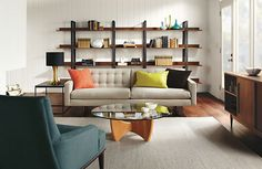 Elton Bookcase - Bookcases & Shelves - Living - Room & Board