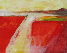 Abstract landscape by Trudy Montgomery. http://bluetangerineart.com