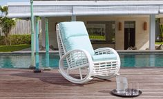 Enjoy lazy afternoons on your balcony and garden with our rocking chair! These rocking chair is crafted out of high-quality PE Rattan which is ready to withstand sun, wind, and rain so that it can be a part of your life for many years to come.  Come and visit us at Al Shamal Road next to Landmark Mall. www.fiore-rosso.com  #fiorerossoqa #rockingchair #relaxing #outdoor #beautify #outdoorfurniture