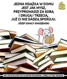 Czytanie Owl Books, Animal Books, Life Motto, World Of Books, Book Memes, Some Quotes, Book Lovers, Book Worms, Books To Read