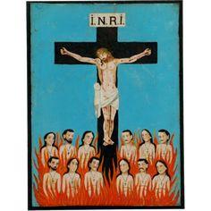 Cross of Souls Retablo