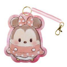 Disney ufufy Minnie commuter pass case