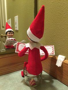 """""""Ho, Ho, Ho. . . Who has to go?"""" -Willy the Elf"""