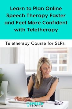 Quick Start Teletherapy program was created to help SLPs get confident with delivering teletherapy. You'll learn everything from planning speech therapy activities via teletherapy, teletherapy platforms and tools, to evaluation, and more! Whether you're doing teletherapy for only a short period of time or want to transition to into it permanently, I have you covered. - Speech is Beautiful