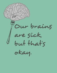 Our brains are sick, but that's okay - Twenty One Pilots - Fake You Out