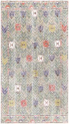 Vintage Marta Maas Fjetterstrom Swedish Tapestry 48439