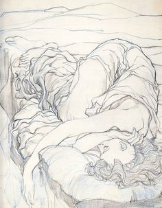 Ororo Sleeping by Barry Windsor Smith