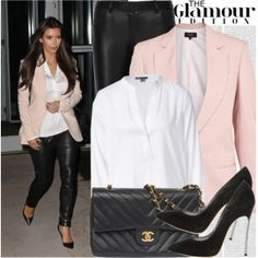 Get The Look Kim Kardashian Kardashian Style Pinterest