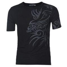 Mens T-Shirts Short Sleeve T-Shirts Men Printed Tshirts-T-Shirts-LeStyleParfait.Com