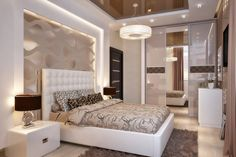 Bedroom interior design styles on 60 beautiful photos - To decorate the bedroom so that you can enjoy the fruits of your work every day – it's not that simple. After all, it is the bedroom – a space Living Room Bedroom, Dream Bedroom, Home Decor Bedroom, Bed Rooms, Entryway Decor, Bedroom Ideas, Apartment Interior Design, Home Interior, Interior Ideas