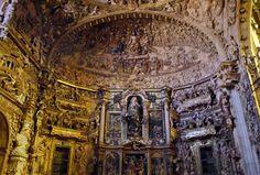 Capilla de los Benavente en la iglesia de Santa María de María de Rioseco