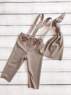 COD 53 recién nacido gris-polvo estirar algodón Leggings