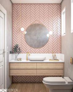 Modern Bathroom Decor, Modern Farmhouse Decor, Bathroom Interior Design, Small Bathroom, Modern Decor, Bathroom Ideas, Boho Bathroom, Master Bathroom, Rental Bathroom