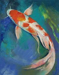 Shop for koi art from the world's greatest living artists. All koi artwork ships within 48 hours and includes a money-back guarantee. Choose your favorite koi designs and purchase them as wall art, home decor, phone cases, tote bags, and more! Koi Art, Fish Art, Fish Drawings, Art Drawings, Koi Fish Drawing, Butterfly Koi, Coy Fish, Koi Painting, Japanese Koi