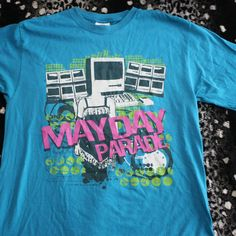be8d391b Dm with any questions This is a Mayday Parade T in good used condition.  There. Depop