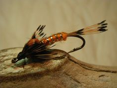 The Orange Nymph, A Fly Fish Ohio Fly Tying Special