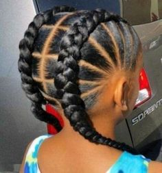 See more protective styles for natural hair braids, great updo for vacation. great for swimming too. Leave it in long term for summer or winter. You'll see… - 21 Protective Styles for Natural Hair Braids African American Girl Hairstyles, Toddler Braided Hairstyles, Black Kids Hairstyles, Baby Girl Hairstyles, Natural Hairstyles For Kids, Box Braids Hairstyles, Hairstyle Ideas, Teenage Hairstyles, African Kids Hairstyles