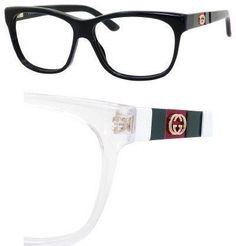 GUCCI Eyeglasses 3543 05L0 White 55MM Gucci. $164.81