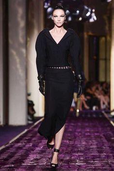 Versace Couture Fall Winter 2014 Paris - NOWFASHION