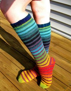 awesome!!! love the striped knee socks.