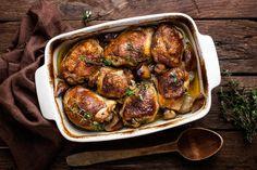 Sticky Chicken, Honey Mustard Chicken, Apple New, Chicken Legs, Hoisin Sauce, Baking Pans, Baking Sheet, Chicken Tenders, How To Cook Chicken
