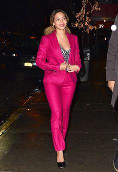 Lady in Pink! Beyoncé