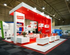 Design stand Staples Facilitair 2015 Eldee Expo Experts