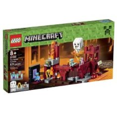 Buy Now LEGO Minecraft 21122 the Nether Fortress Building Kit for Christmas Gifts Idea Store Lego Minecraft, Lego 4, Lego Duplo, Lego Ninjago, Minecraft Video Games, Buy Lego, Minecraft Buildings, Minecraft Skins, Minecraft Stuff