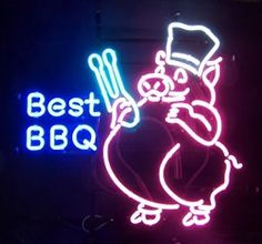 BBQ Neon Signs | ... room decor neon signs best bbq neon sign part number best bbq neon