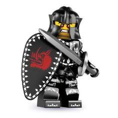 Eeep! It's a Lego Black Knight!