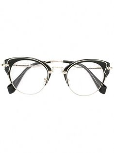 39e4454be70 Miu Miu Eyewear cat eye glasses  MiuMiu