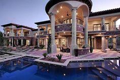 las vegas luxury homes | Las Vegas, Nevada, United States - Sophisticated Las Vegas Luxury Home ...
