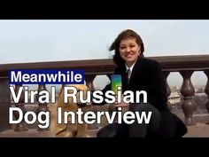 Russian Dog Steals Reporter's Mic on Live TV in Viral Clip | The Moscow Times - YouTube Russian Dogs, Golden Retriever Names, Live Tv, Moscow, Interview, Times, Youtube, Youtubers, Youtube Movies