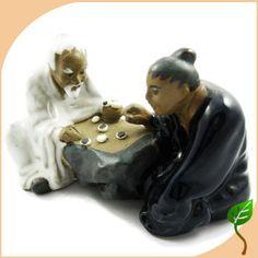 Figurine Figure Mudman Mud Chinese Chess men Vintage