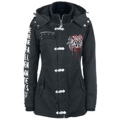 Full Volume by EMP Signature Collection - Winter Jacket by Black Veil Brides