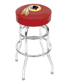 Take a look at this Washington Redskins Swivel Bar Stool by Imperial on #zulily today!